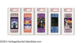 Football Collectibles:Tickets, 1988-2004 Super Bowl High-Grade Full Ticket Run. Lot of 17 ... (17 pieces)