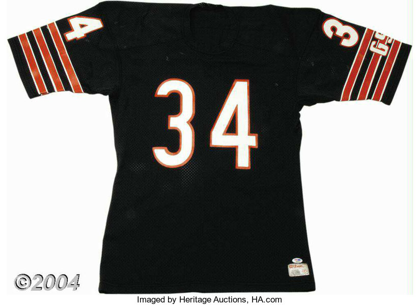 Walter Payton Mid-1980s Game-Worn Chicago Bears Jersey ... Football ... 1e224ef78