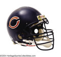 Football Collectibles:Uniforms, Chicago Bears Game-Used William Perry Autographed Helmet ...