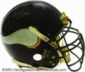Football Collectibles:Uniforms, Minnesota Vikings Game-Used Autographed Helmet An official ...