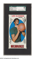 Basketball Cards:Singles (Pre-1970), 1969-70 Topps Lew Alcindor #25 SGC Mint 96 One of the ...