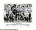Basketball Collectibles:Photos, 1960 Boston Celtics Team Signed Large Photograph Never ...