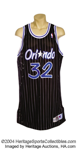 new product 2b99f 2cc0a Shaquille O'Neal 1995-96 Orlando Magic Game-Worn Jersey ...