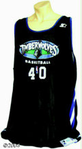 Basketball Collectibles:Uniforms, Minnesota Timberwolves 1997-98 Practice Jerseys (3) Pair ... (3items)