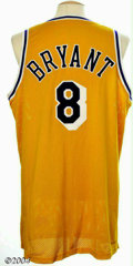 Basketball Collectibles:Uniforms, Kobe Bryant 1998-99 Game-Worn Jersey As of this writing, ...