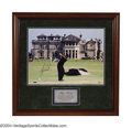 Golf Collectibles:Autographs, Tiger Woods Signed Limited Edition Large Photograph Golf's ...
