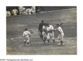 Baseball Collectibles:Photos, 1927 Babe Ruth World Series Wire Photo The Babe at his ...