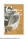 "Baseball Collectibles:Others, Casey at the Met(s) (Universal, 1963) One Sheet (27"" X 41"")..."