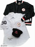 Baseball Collectibles:Uniforms, 1979-82 Dallas Parks Game-Worn Umpire's Uniform From the ... (3 items)