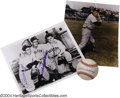 Autographs:Photos, Ted Williams Autograph Collection (3) No baseball ... (3 items)