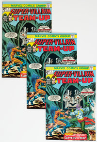 Super-Villain Team-Up #1 Group of 35 (Marvel, 1975) Condition: Average FN/VF.... (Total: 35 Comic Books)