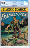 Golden Age (1938-1955):Classics Illustrated, Classic Comics #26 Frankenstein - First Edition (Gilberton, 1945) CGC GD/VG 3.0 Off-white pages....