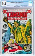 Bronze Age (1970-1979):Science Fiction, Kamandi, the Last Boy on Earth #1 (DC, 1972) CGC NM 9.4 Off-white to white pages....
