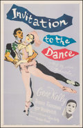 """Movie Posters:Musical, Invitation to the Dance (MGM, 1956). Fine/Very Fine on Linen. One Sheet (27"""" X 41""""). Musical.. ..."""