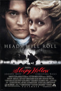 """Movie Posters:Fantasy, Sleepy Hollow (Paramount, 1999). Rolled, Very Fine. One Sheet (26.75"""" X 39.75"""") SS Advance. Fantasy.. ..."""