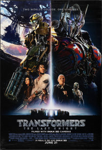 """Transformers: The Last Knight (Paramount, 2017). Rolled, Very Fine. One Sheets (2) (27"""" X 40"""") DS Advance, Reg..."""