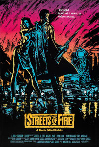 """Streets of Fire (Universal, 1984). Rolled, Very Fine+. One Sheet (27"""" X 40""""). Action"""