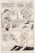 Original Comic Art:Panel Pages, Curt Swan and Murphy Anderson Action Comics #405 Story Page 17 Original Art (DC, 1971)....