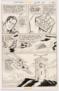 Curt Swan and Murphy Anderson Action Comics #405 Story Page 17 Original Art (DC, 1971)