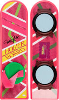 Movie/TV Memorabilia:Autographs and Signed Items, Michael J. Fox Signed Hoverboard....