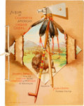 """Non-Sport Cards:General, 1887 A2 Allen & Ginter """"Celebrated American Indian Chiefs"""" (N2) Album. ..."""