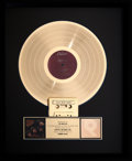 Music Memorabilia:Awards, The Beatles Presented Rubber Soul RIAA Gold Record Sales Award (Capitol T-2442, 1965). ...