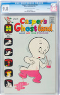 Bronze Age (1970-1979):Cartoon Character, Casper's Ghostland #62 File Copy (Harvey, 1971) CGC NM/MT 9.8 Off-white to white pages....