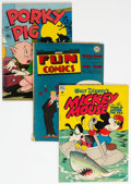 Golden Age (1938-1955):Humor, Golden Age Humor Comics Group of 32 (Various Publishers, 1940s-60s). Condition: Average VG.... (Total: 32 Comic Books)