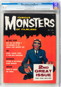 Magazines:Horror, Famous Monsters of Filmland #2 (Warren, 1958) CGC VF+ 8.5 Off-white pages....