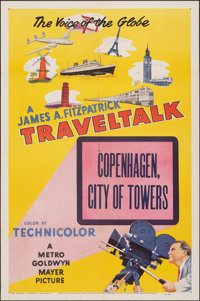 """Traveltalk Stock Poster & Other Lot (MGM, 1951). Folded, Very Fine-. One Sheets (2) (27"""" X 41"""") """"Cope..."""