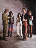 Music Memorabilia:Memorabilia, The Rolling Stones Sticky Fingers: The Lost Session Photographs Limited Edition #356/600 Book Signed by Author (Or...