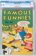 Golden Age (1938-1955):Humor, Famous Funnies #147 (Eastern Color, 1946) CGC NM 9.4 Cream to off-white pages....