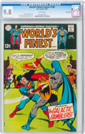 Silver Age (1956-1969):Superhero, World's Finest Comics #185 Twin Cities Pedigree (DC, 1969) CGC NM/MT 9.8 White pages....