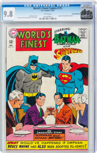 World's Finest Comics #172 Rocky Mountain Pedigree (DC, 1967) CGC NM/MT 9.8 White pages