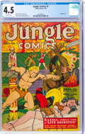 Golden Age (1938-1955):Adventure, Jungle Comics #7 (Fiction House, 1940) CGC VG+ 4.5 Off-white pages....