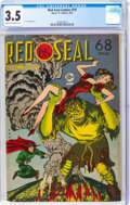 Golden Age (1938-1955):Superhero, Red Seal Comics #19 (Chesler, 1947) CGC VG- 3.5 Cream to off-white pages....