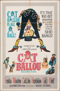 """Movie Posters:Comedy, Cat Ballou (Columbia, 1965). Folded, Fine+. One Sheet (27"""" X 41""""). Comedy.. ..."""