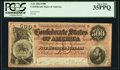 Confederate Notes:1864 Issues, T64 $500 1864 PF-3 Cr. 489B PCGS Very Fine 35PPQ.. ...