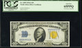 Small Size:World War II Emergency Notes, Fr. 2309 $10 1934A North Africa Silver Certificate. PCGS Gem New 65PPQ.. ...