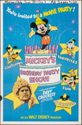 """Movie Posters:Animation, Mickey's Birthday Party Show & Other Lot (Buena Vista, 1978). Folded, Fine+. One Sheets (2) (27"""" X 41""""). Animation.. ... (Total: 2 Items)"""