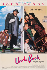 "Uncle Buck & Other Lot (Universal, 1989). Folded, Very Fine. One Sheets (2) (27"" X 40"" & 27"" X 41..."