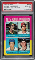 Baseball Cards:Singles (1970-Now), 1975 Topps Keith Hernandez - Rookie Infielders #623 PSA Gem Mint 10. ...