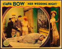 "Her Wedding Night (Paramount, 1930). Fine/Very Fine. Lobby Card (11"" X 14""). Comedy"