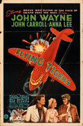 """Movie Posters:War, Flying Tigers (Republic, 1942). Folded, Fine+. One Sheet (27"""" X 41"""") Style A.. ..."""