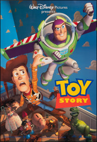 """Toy Story & Other Lot (Buena Vista, 1995). Rolled, Very Fine. One Sheets (3) (27"""" X 40"""") DS. Animation..."""