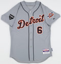 Baseball Collectibles:Uniforms, 2011 Al Kaline Team Issued Detroit Tigers Jersey....