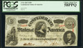 Confederate Notes:1863 Issues, T56 $100 1863 PF-1 Cr. 403 PCGS Choice About New 58PPQ.. ...