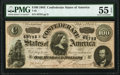 Confederate Notes:1864 Issues, T65 $100 1864 PF-2 Cr. 493 PMG About Uncirculated 55 EPQ.. ...