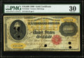 Large Size:Gold Certificates, Fr. 1225d $10,000 1900 Gold Certificate PMG Very Fine 30.. ...