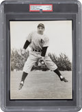 Baseball Collectibles:Photos, 1941 Phil Rizzuto Original Photograph Used for 1948 Bowman Card by William Greene, PSA/DNA Type 1. ...